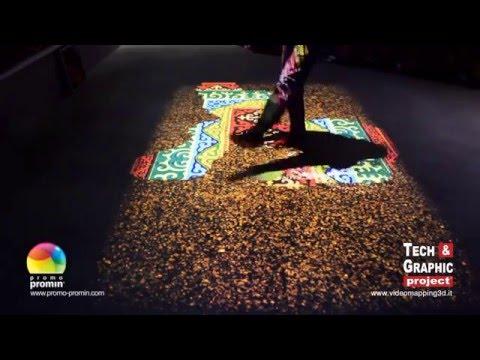 TEGP - Pavimento interattivo Padiglione della Repubblica del Kirghizistan. Milano EXPO 2015