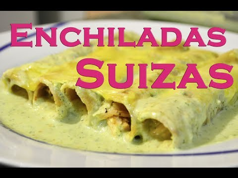 Mexican Enchiladas Suizas: What a Good Taste