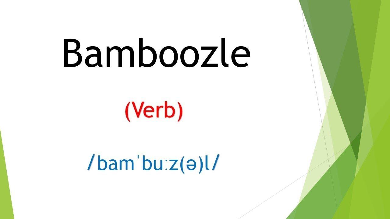 Bamboozle meaning in Hindi   English Vocabulary   SSC CGL   IBPS PO, UPSC,  PCS