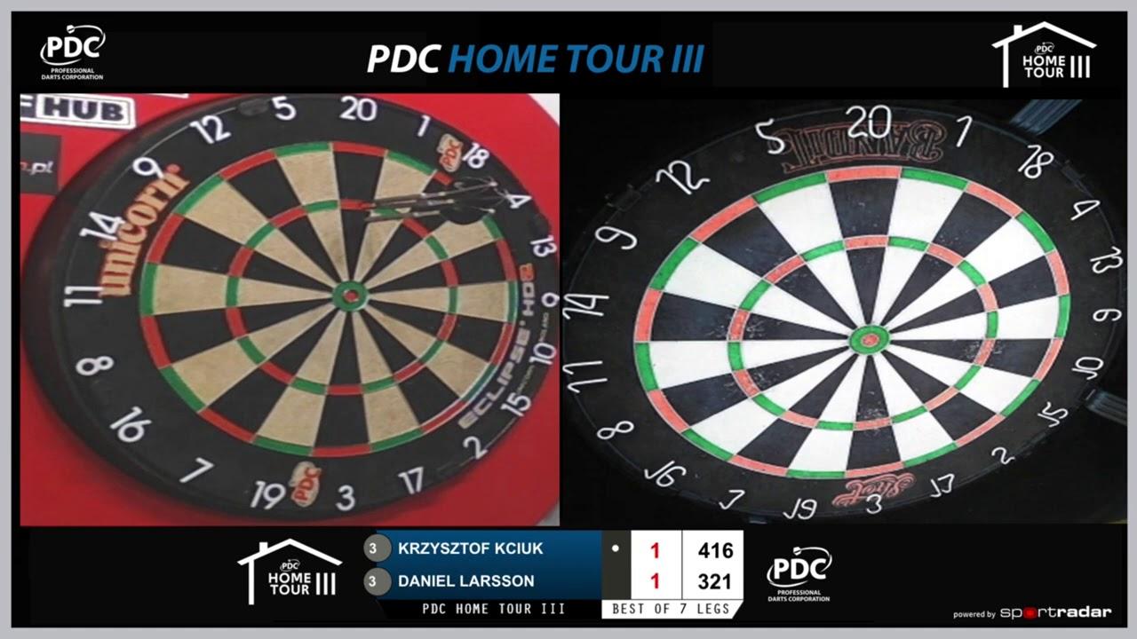 NINE DARTER! Daniel Larsson strikes perfection on PDC Home Tour III