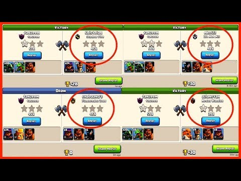 World Best Builder Hall 6 (Bh6) Base With Replay Proof Anti All Troops Anti Witch Anti Everything