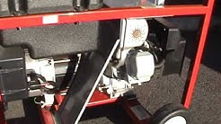 Generac 5000 Watt Portable Generator Cold Start & Load Test 1-23-10.wmv