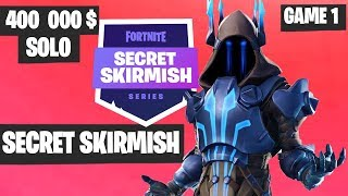 Fortnite Secret Skirmish SOLO Game 1 Highlights [Day 2] Fortnite Tournament 2019
