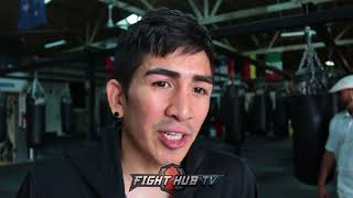 """LEO SANTA CRUZ """"LOMACHENKO IS P4P 1 FIGHTER NOW, ONLY MIKEY CAN BEAT HIM"""""""