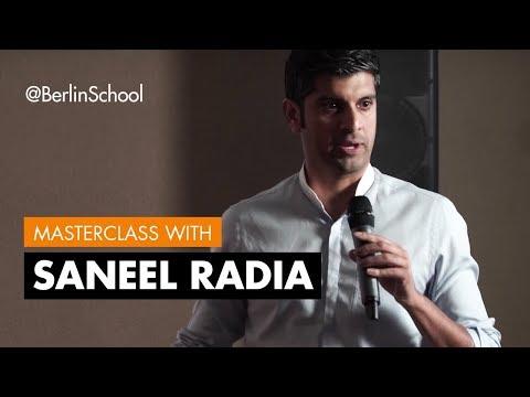 Saneel Radia Master Class (Berlin School Alumnus)