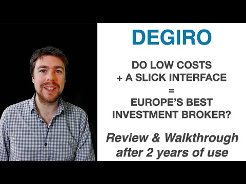 DEGIRO - The best investment broker for 🇪🇺? Review & Walkthr