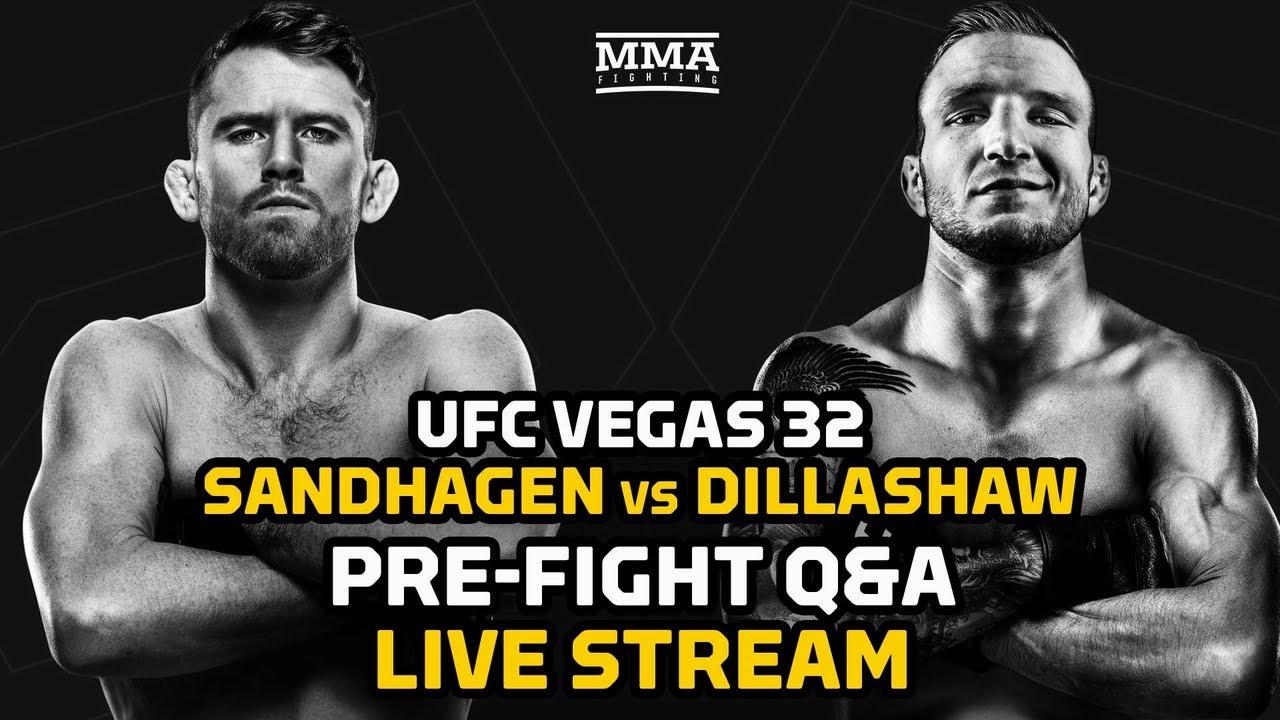 UFC Vegas 32: Cory Sandhagen vs. TJ Dillashaw Pre-Fight Q&A | MMA Fighting