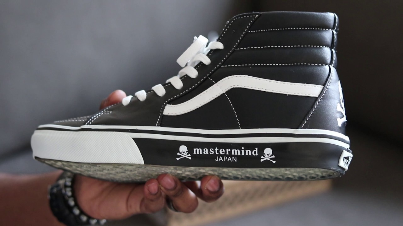 dc099cb72e Mastermind Japan X Vans SK8-hi (Japanese Exclusive) - YouTube