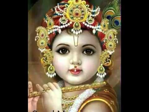 Cute Krishna Saying Good Morning Youtube