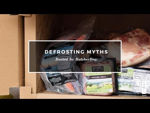 Top 5 Myths About Defrosting Meat BUSTED!