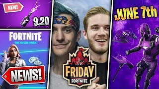 Ninja & Pewdiepie, WILDE Starter Pack, Neo Legends, Storm Flip, Dark Vertex Bundle! (Fortnite News)
