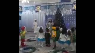 Утренник в детском саду, игра  на новый год