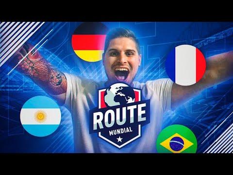 MI EQUIPO PARA EL ROUTE MUNDIAL!!!   FIFA 18