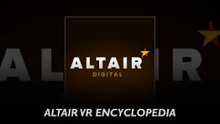 ALTAIR -  the first VR platform for world discovery built on blockchain technology