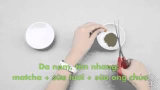 Cách làm trắng da hiệu quả bằng bột trà xanh