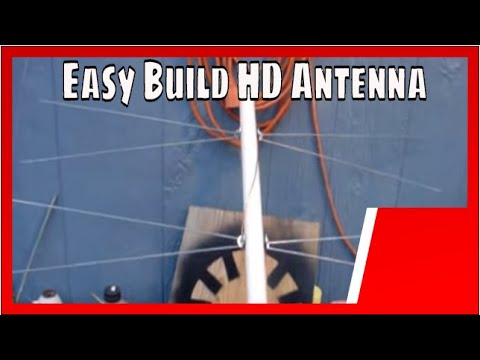 EASY BUILD HIGH PERFORMANCE BI-DIRECTIONAL HD TV ANTENNA