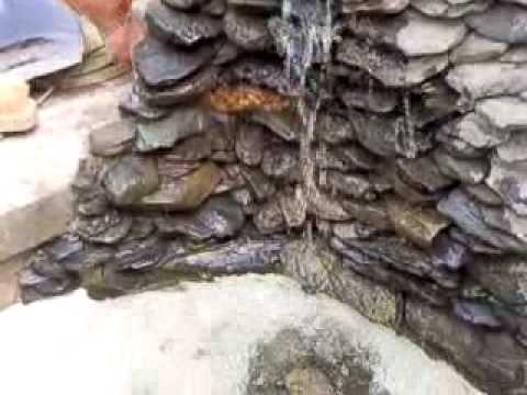 Fuente ornamental casera youtube for Antorchas para jardin caseras