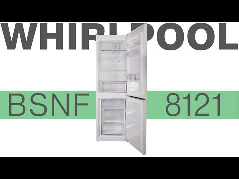 видео: whirlpool bsnf 8121 - холодильник с системой охлаждения total nofrost - Видеодемонстрация  от comfy
