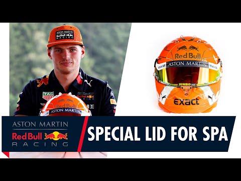 Special Lid For Spa | Max Verstappen Reveals His Belgian GP Helmet