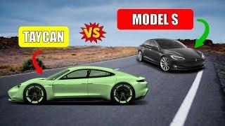 Porsche Taycan vs Tesla Model S Detailed Spec Comparison | 0-60 | Horsepower | Price