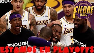 Lakers vs Hawks | Chandler tapona y gana el partido | LeBron James autocrítico | Estamos en playoffs