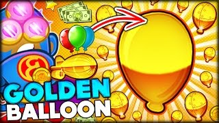 HOW TO GET FREE MONKEY MONEY IN BLOONS TD 5!! BEST GOLDEN BLOON STRATEGY (Bloons Tower Defense 5)