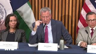 Mayor de Blasio Holds Media Availability on City's COVID-19 Response