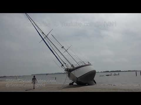 Gulfport & Biloxi, MS Hurricane Nate Aftermath - 10/8/2017