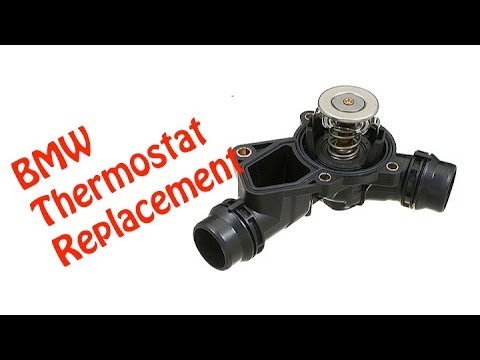 diy how to replace thermostat bmw e46 youtube. Black Bedroom Furniture Sets. Home Design Ideas