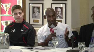 2012 Millrose Games Bernard Lagat Press Conference