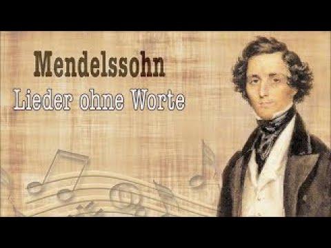 "Mendelssohn: ""Lieder ohne Worte"" selection | Classical Piano Music"