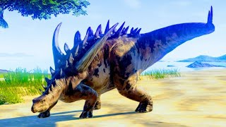 Carnotaurus & Ceratosaurus Hunting In Desert Environment - Jurassic World Evolution