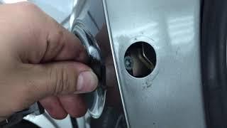 Як зняти ручку дверей lexus NX