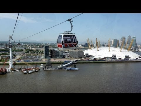 Emirates Airline Cable Car POV