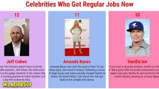 Celebrities Who Got Regular Jobs Now