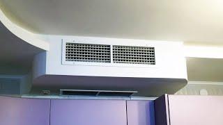 Вентиляция с рекуперацией тепла и канальное кондиционирование квартиры(В современных квартирах и коттеджах особое внимание должно уделяться организации воздухообмена. Воздухоо..., 2015-09-11T16:23:06.000Z)