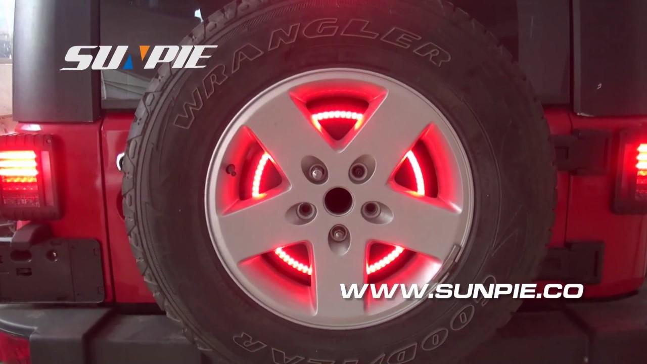 Jeep Wrangler Jk Tj Lj Yj Cj Spare Tire Led Third Brake