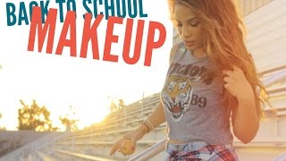 Easy Natural Back to School Makeup!