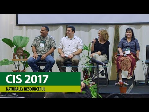 CIS Conference 2017 – Nanturally Resourceful, Plenary Panel
