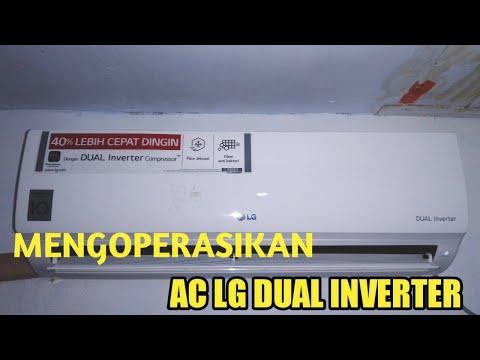 AC LG duel inverter tidak dingin.