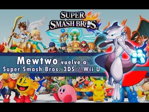 DLC - Mewtwo llega a SSB en 3DS y Wii U