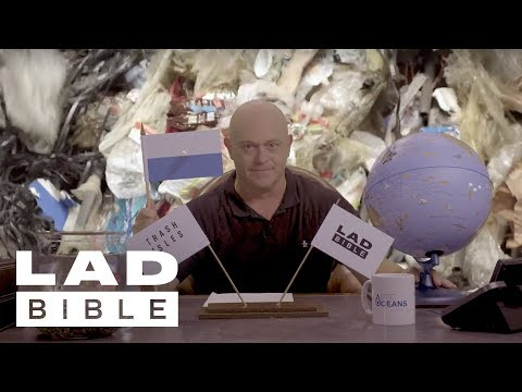 Trash Isles: LADbible Claims The World's First Country Made Of Trash With Ross Kemp