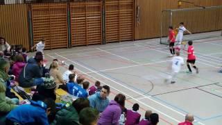 U12 Jhg2005 SV Wehen Wiesbaden - FSV Frankfurt 0:3; Spiel um Pl.3 Mini-Lilien-Cup 2017