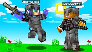Playing With God BOOSTED Netherite Weapons In Minecraft | JeromeASF