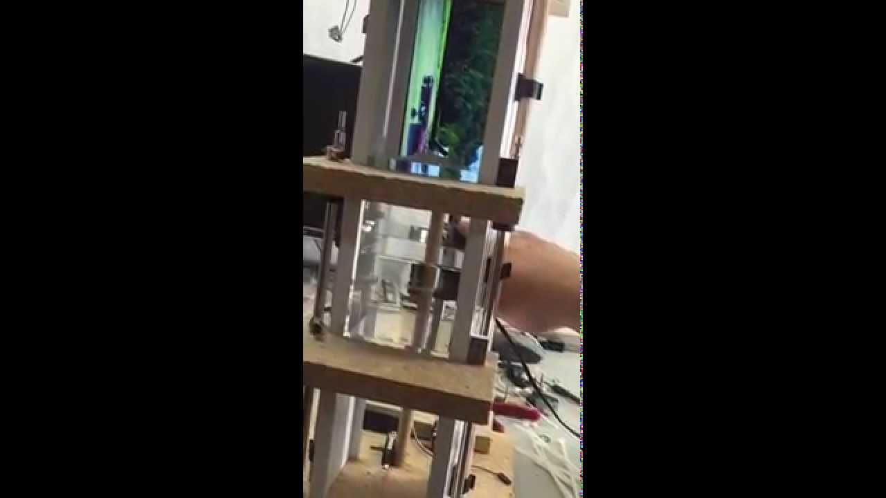 Arduino controlled two story elevator penthouse in for 1 story elevator