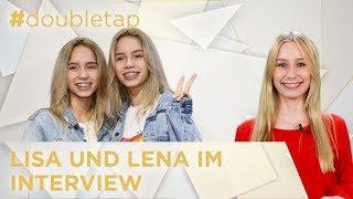 Lisa und Lena sind privat ganz anders als in der Öffentlichkeit – #doubletap Folge 7