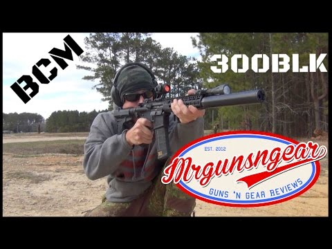 Bravo Company USA  300BLK AR-15 Pistol With Law Tactical Adaptor & KAK Brace Review (HD)