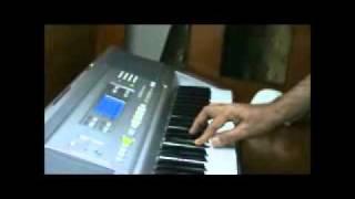 musafir hoon yaaro - parichay - piano cover