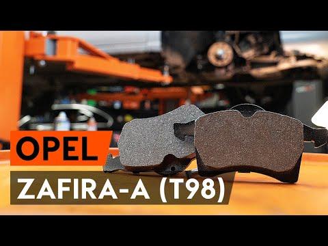 Как заменить передние тормозные колодки на OPEL ZAFIRA-A 1 (T98) [ВИДЕОУРОК AUTODOC]