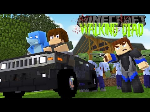Minecraft THE WALKING DEAD - PROJECT LITTLE LIZARD AND TINY TURTLE